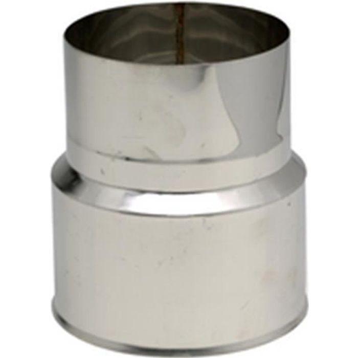 Ten Réduction Inox 304 F M diamètre : 125 111 Réf. 612511
