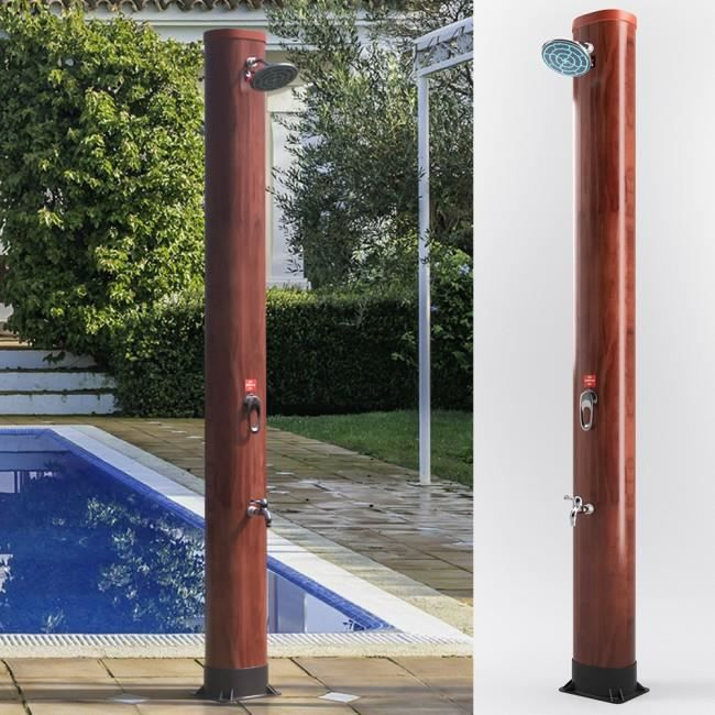 Douche solaire 40l NEUF piscine jardin douche solaire camping douche douche de jardin extérieur