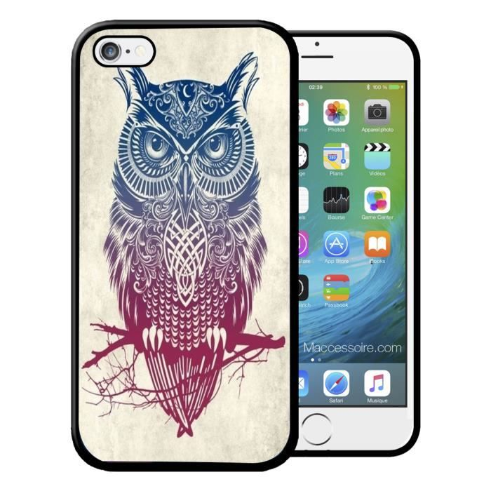 coque iphone 4 hibou