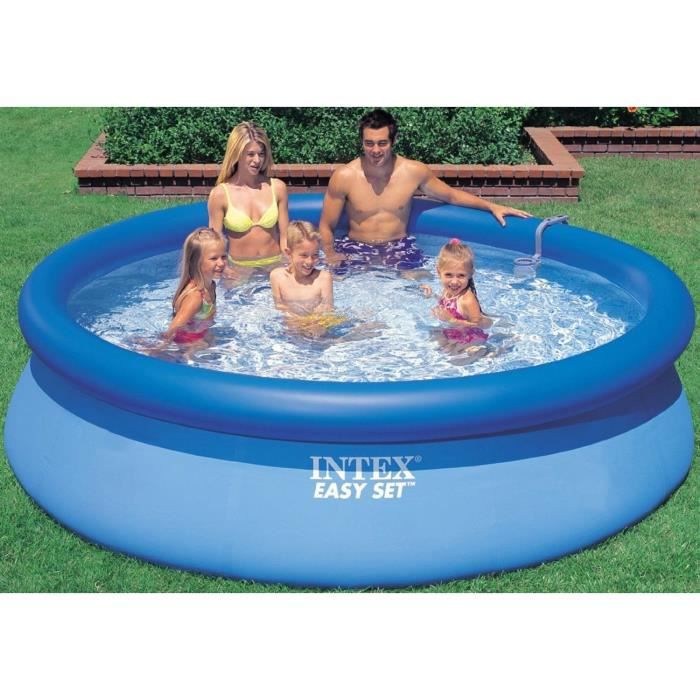 Easy set piscine autostable 366 x 91 cm achat vente for Piscine autostable