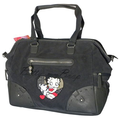 sac week end betty boop pudgy gris achat vente sac bowling sac week end cdiscount. Black Bedroom Furniture Sets. Home Design Ideas