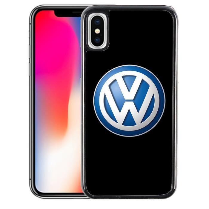 Coque iPhone XR VW Volkswagen Logo - Cdiscount Téléphonie