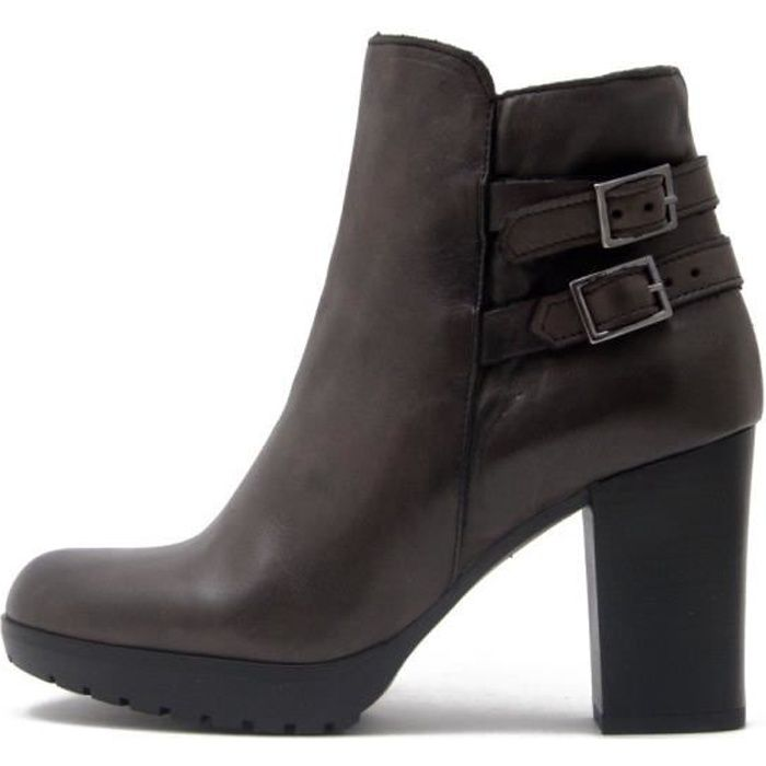 3fb5033a7f8bf Bottines femme cuir - Achat   Vente pas cher