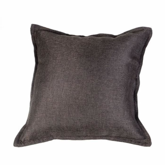 coussin d houssable tr s tendance carr choco 40 x 40 cm achat vente coussin cdiscount. Black Bedroom Furniture Sets. Home Design Ideas