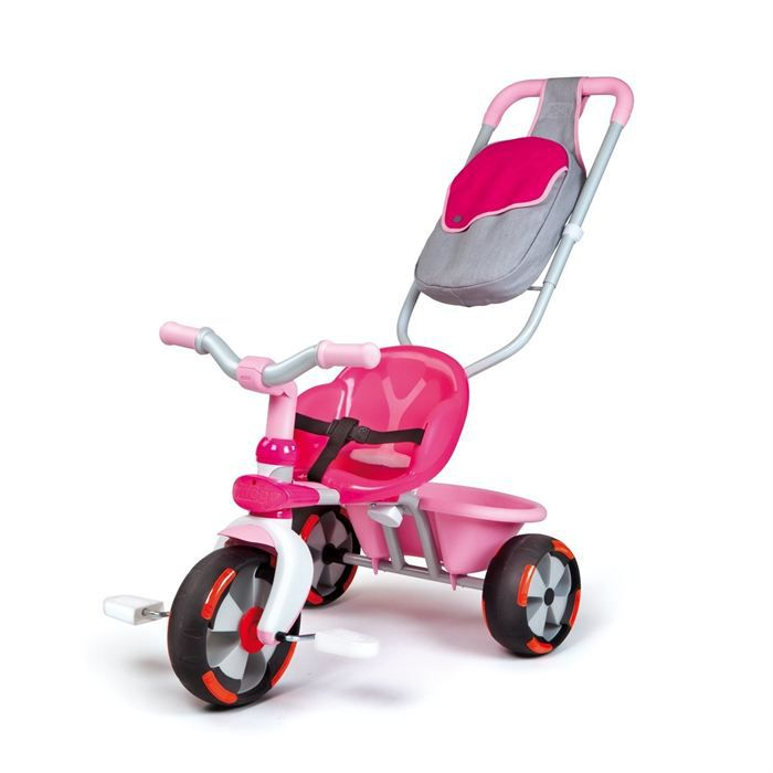 tricycle baby driver v fille smoby achat vente. Black Bedroom Furniture Sets. Home Design Ideas
