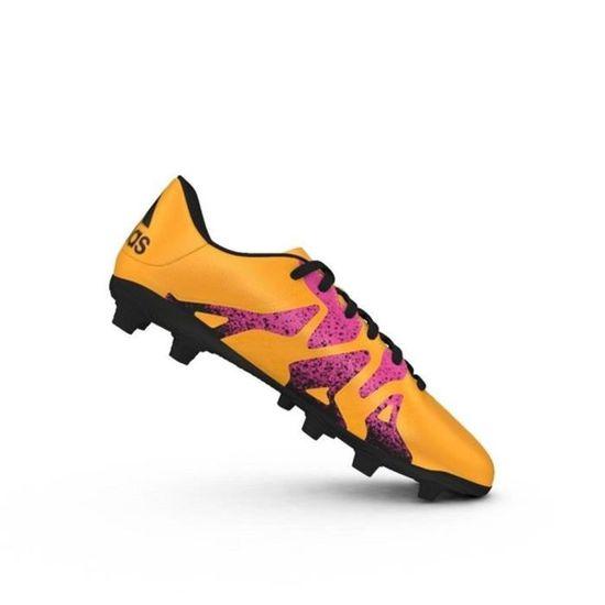 ADIDAS Chaussures de Foot pour terrain sec homme X 15.4 FG Orange