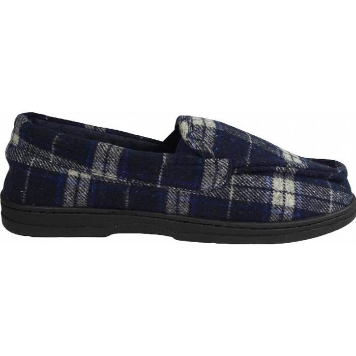 Perry Ellis Twin-stretch Slippers SY10R Taille-XL 0mf2n