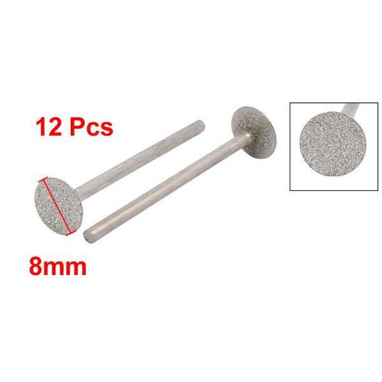 """1//3/"""" tige 2.0 mm Dia balle en forme de Diamond Head Broyage monté Point Bit 20pcs"""
