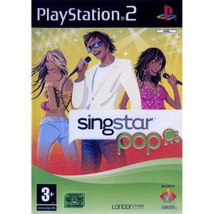 JEU PS2 SINGSTAR POP / JEU CONSOLE PS2