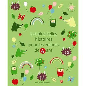 Livre 3-6 ANS Les plus belles histoires pour les enfants de 4 an