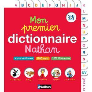 DOCUMENTAIRE ENFANT NATHAN Mon Premier Dictionnaire 3-6 ans