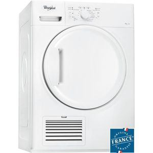 WHIRLPOOL DDLX70113 - S?che-linge ? condensation 7kg Blanc