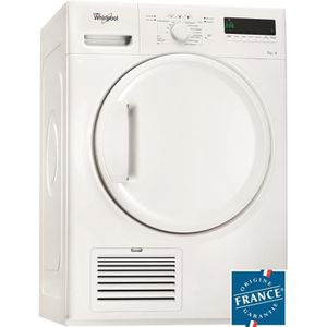 WHIRLPOOL DELX70113 - S?che linge frontal - 7 kg - Condensation - B