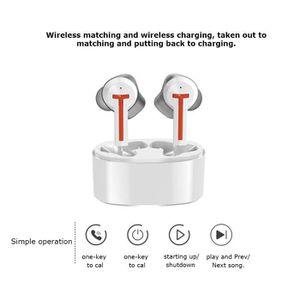 CASQUE - ÉCOUTEURS Réduction de Bruit Stéréo Bluetooth5.0 Sport Casqu
