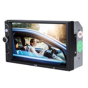 LECTEUR MP4 Lecteur MP3 stéréo voiture MP5 à écran tactile HD