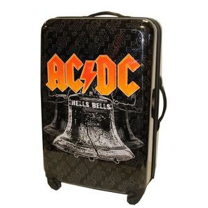 VALISE - BAGAGE Valise Grand modèle - Taille 76 cm - ACDC - incass
