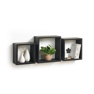 etagere murale en forme de cube achat vente etagere. Black Bedroom Furniture Sets. Home Design Ideas
