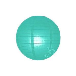 LANTERNE FANTAISIE Lampions boules chinoises vert turquoise clair 20