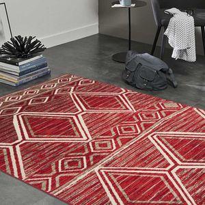 TAPIS Tapis BERBERO rouge Undefined 200 x 290 cm