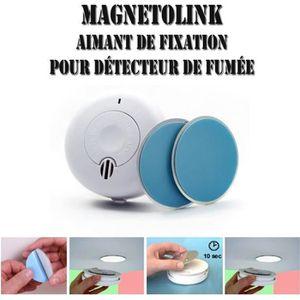 DÉTECTEUR DE FUMÉE Support aimanté pour détecteur de fumée - Magnétol