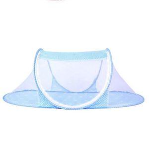 MOUSTIQUAIRE moustiquaire bleu berceau pliable multi-fonction p