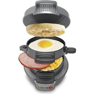 LOT APPAREIL PETIT DEJ Electric Sandwich Hamburger Maker