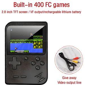 CONSOLE RÉTRO Mini Console de Jeu Portable Ecran 7cm 400 Jeux Re