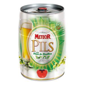 BIÈRE Fut de bière Météor Pils (5° - 5L)