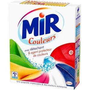 LESSIVE Mir - Couleurs - Lessive en Poudre - Paquet 360 g