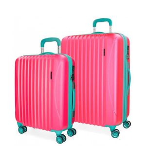 VALISE - BAGAGE Cirque Movom bagages fixé Fuchsia 55-67cm rigide