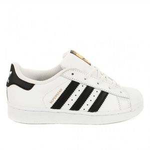 BASKET ADIDAS ORIGINALS Basket Mixte Superstar - Noir et