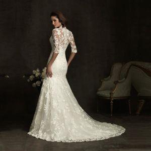 ROBE DE MARIÉE De Luxe Robes De Mariée poisson robe de noiva Vint