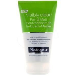 MASQUE VISAGE - PATCH Neutrogena - Masque sous la douche matifiant Visib