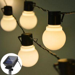 GUIRLANDE D'EXTÉRIEUR Guirlande Lumineuse Exterieur 20 Ampoules 5M Guing