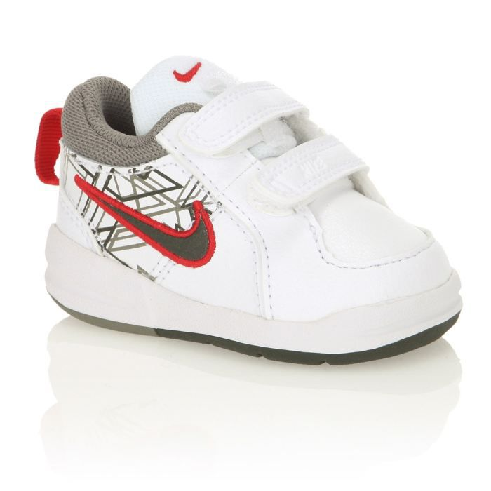 nike baskets pico 4 b b blanc vert et rouge achat. Black Bedroom Furniture Sets. Home Design Ideas