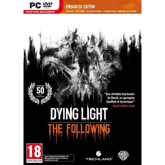 JEU PC Dying Light: The Following - Enhanced Edition Jeu