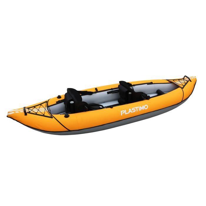 KAYAK PLASTIMO Kayak Gonflable Duo - 3,20 m - 2 Places -