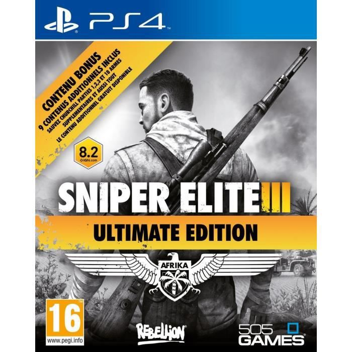 Sniper Elite III Ultimate Edition Jeu PS4