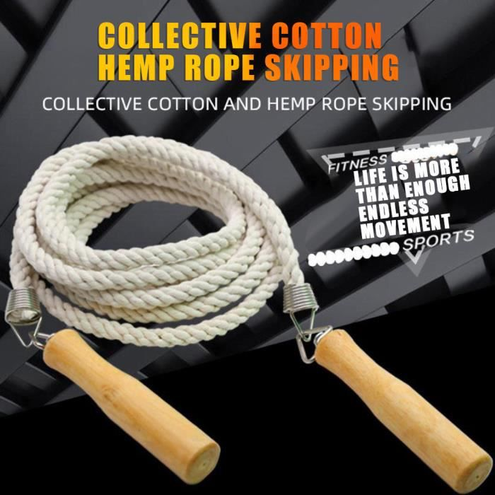 【sauter à la corde】Corde à sauter d'entraînement sportif pour hommes et femmes_YU2831