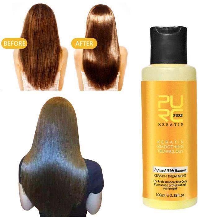 100 ml de protéine de collagène de kératine intensive pour les cheveux secs endommagés @Buuiude5273