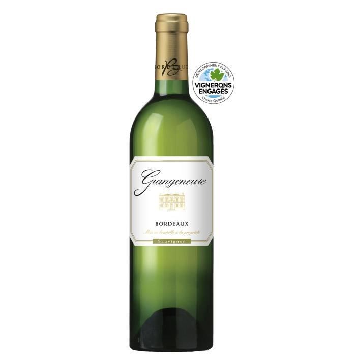 GRANGENEUVE AOC Bordeaux Blanc 100% Sauvignon