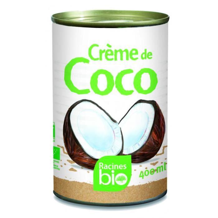 Crème de coco bio 400ml - Racines Bio
