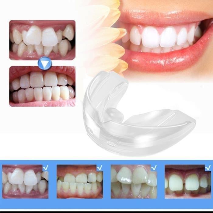 kit d'athlétisme Dispositif de retenue du système de dents droites orthodontiques transparentes avec boîte pour adolescents et