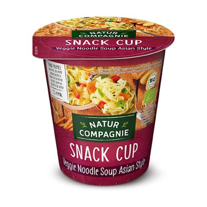 Natur Compagnie+Soupe instantanée aux nouilles d'Asie avec poulet biologique 55 g