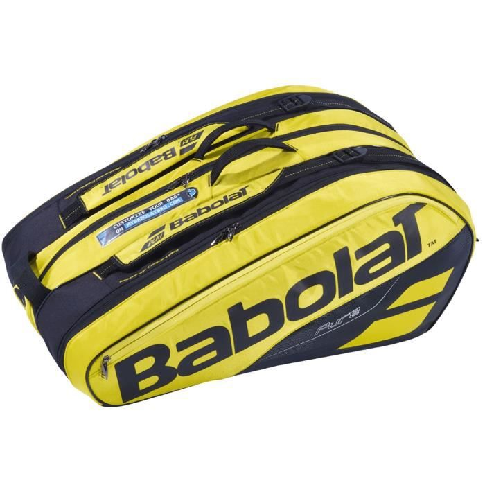 Thermobag Babolat Pure Aero 12R 2019 - Couleur:Noir Type Thermobag:12 raquettes