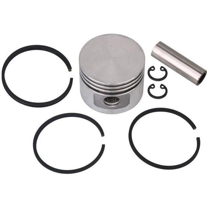 Anneau de gaz d'huile de piston en métal avec axe de piston et circlips Kit de piston 48