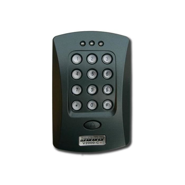 Clavier à code et carte RFID BT1000