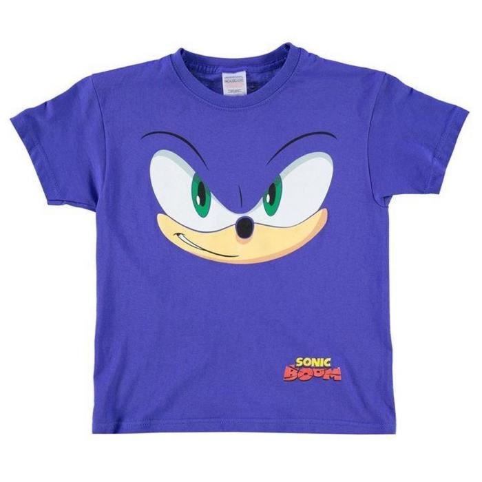 T-shirt Enfant 5-6 ans Sonic Nintendo