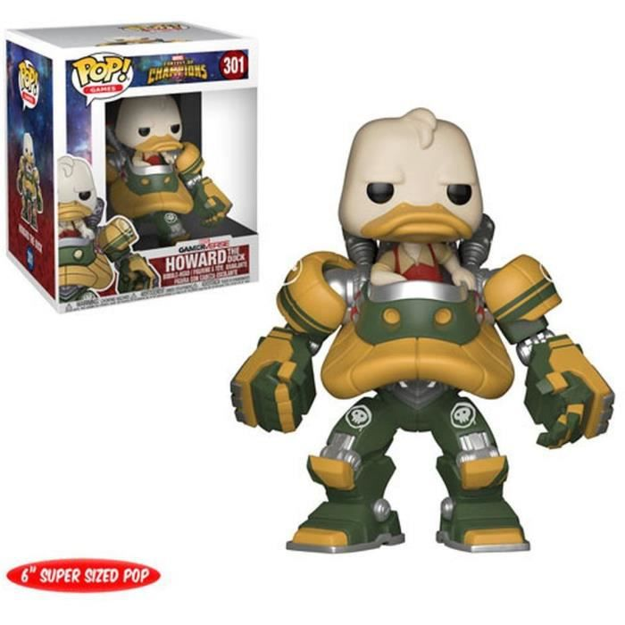 Figurine Funko Pop! Marvel - Contest of Champions: Howard T. Duck - 15 cm