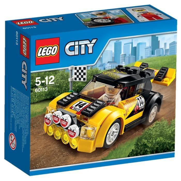 LEGO® City 60113 La Voiture de Rallye